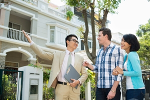 A real estate agent makes the house-hunting process much more convenient for first-time homebuyers.