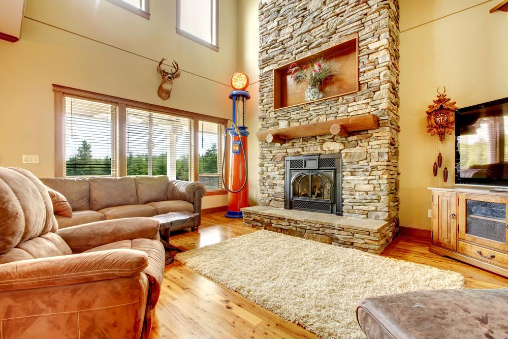 Using your fireplace to lower heating bills