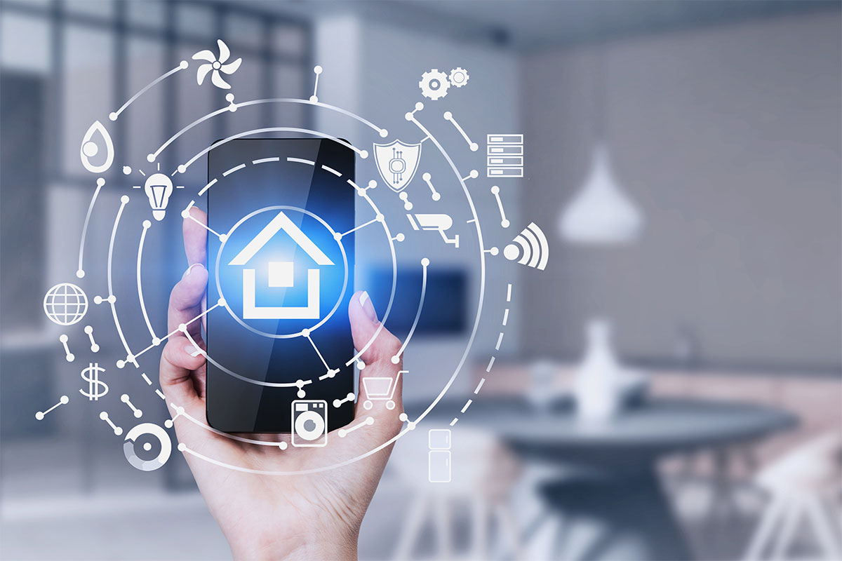 Making homes smart through automation