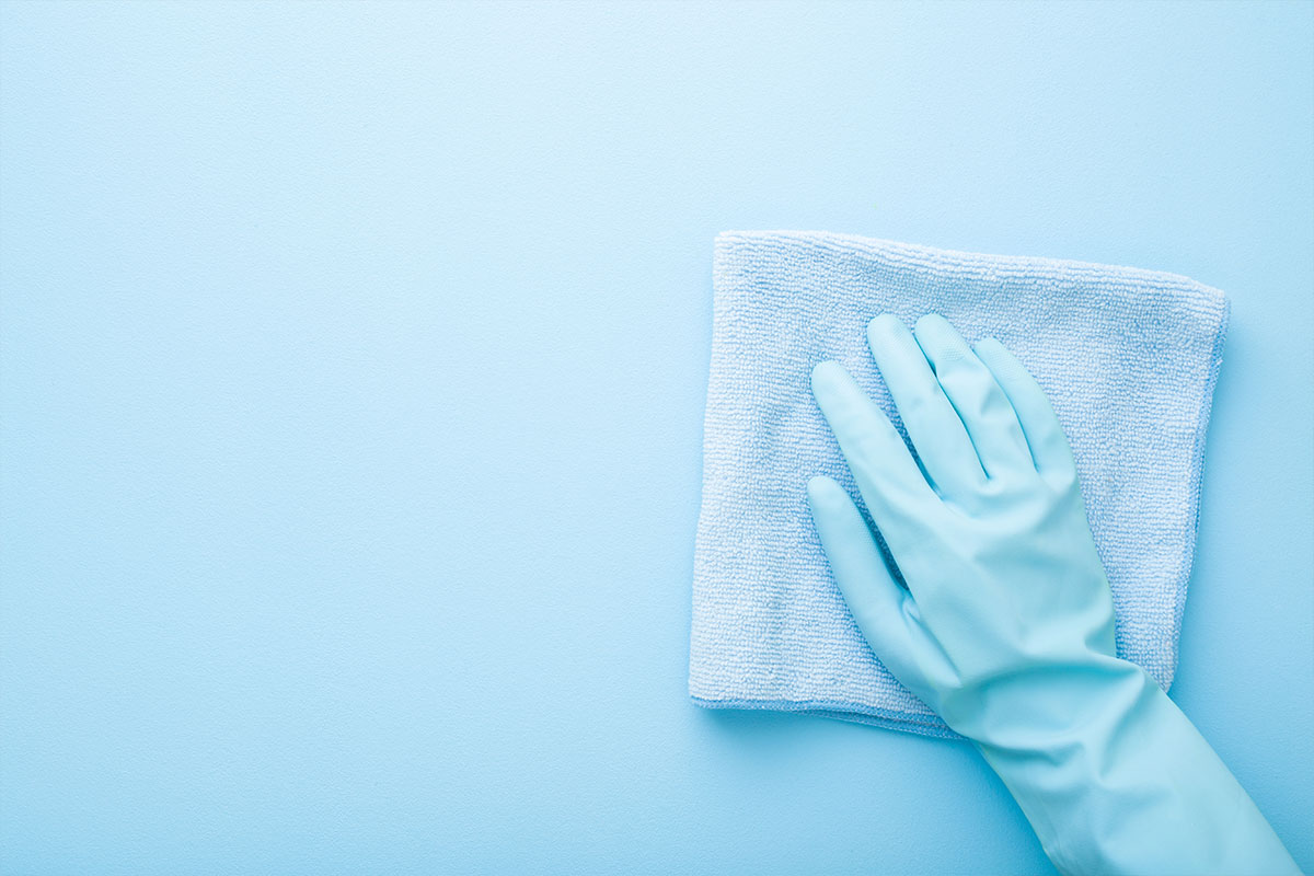 simple ways to sanitize your home this cold and flu season