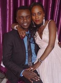 Janice and George Owino
