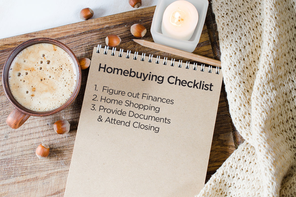 easy to follow first time homebuyer checklist